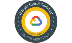 Google cloud architect certified