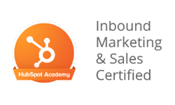 Hubspot inbound marketing and sales certified