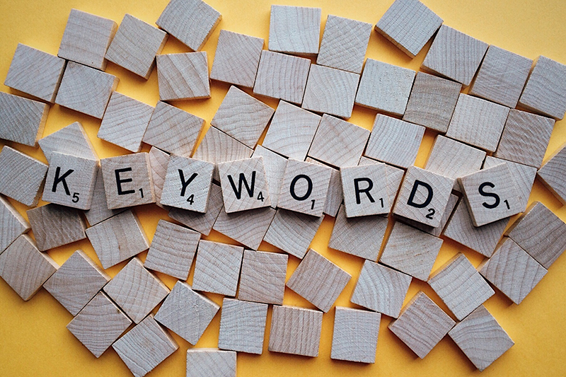 keywords in search optimization