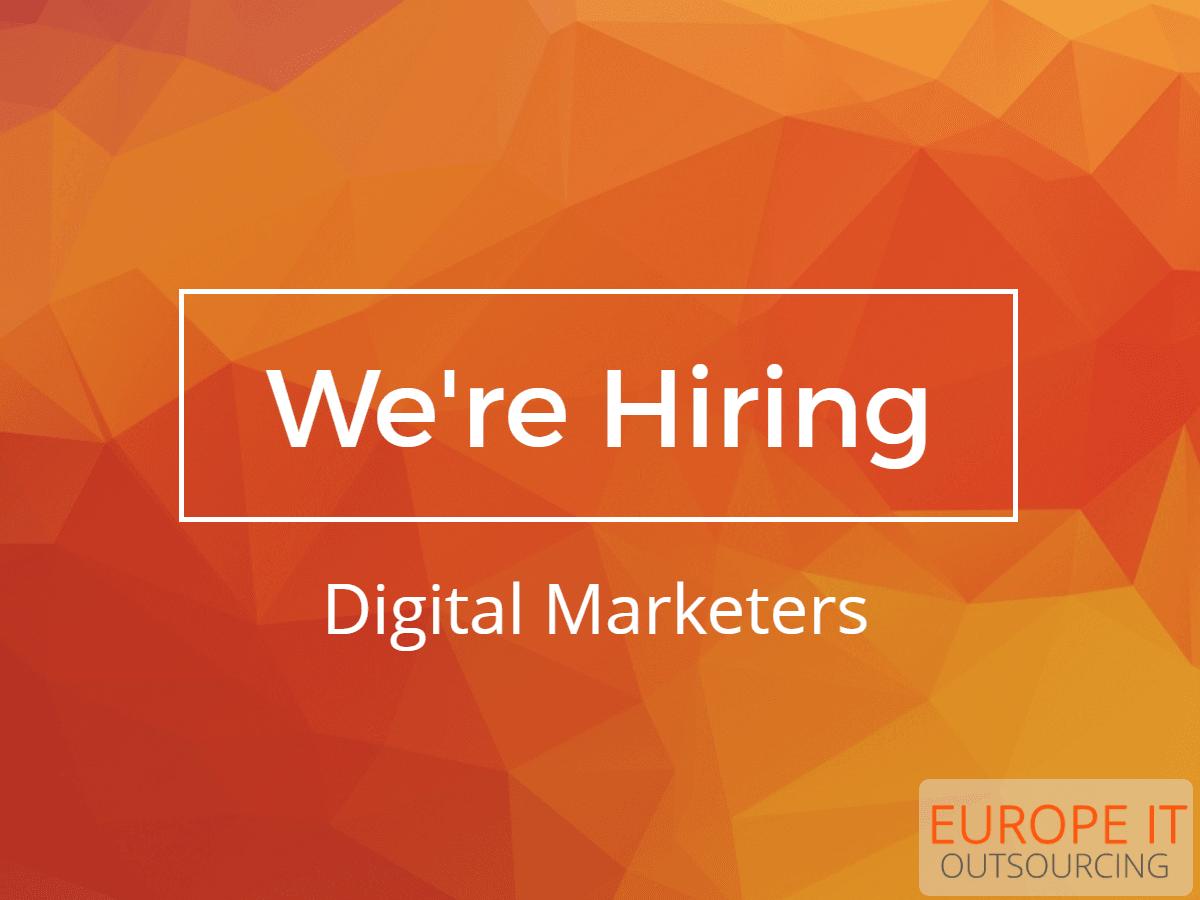 Digital Marketing Specialist Job