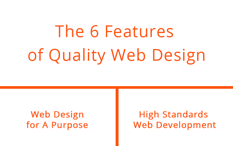 The 6 Features of Quality Web Design