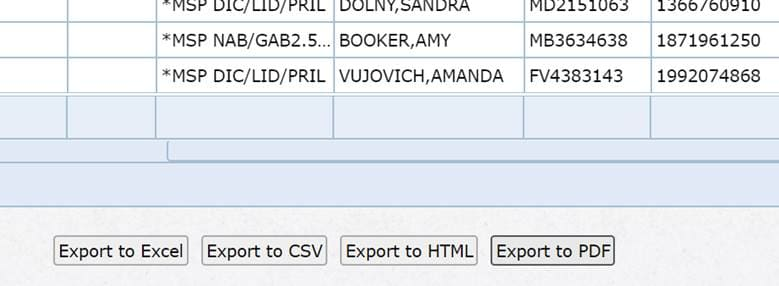 Online Pharmacy System Development export features