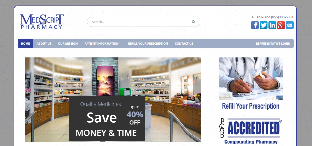 Online Pharmacy System Development Home Page