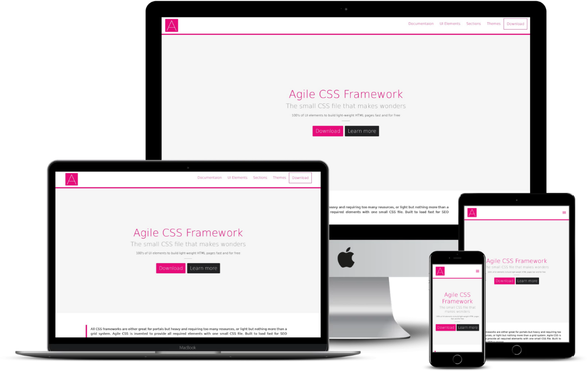 gile CSS Framework & UI Kit Development & UI Kit Development Case Study
