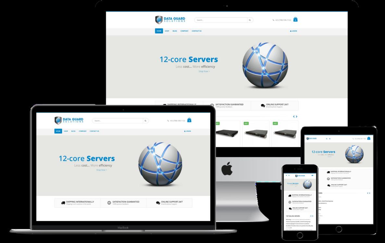 Online store Website Design Case Study