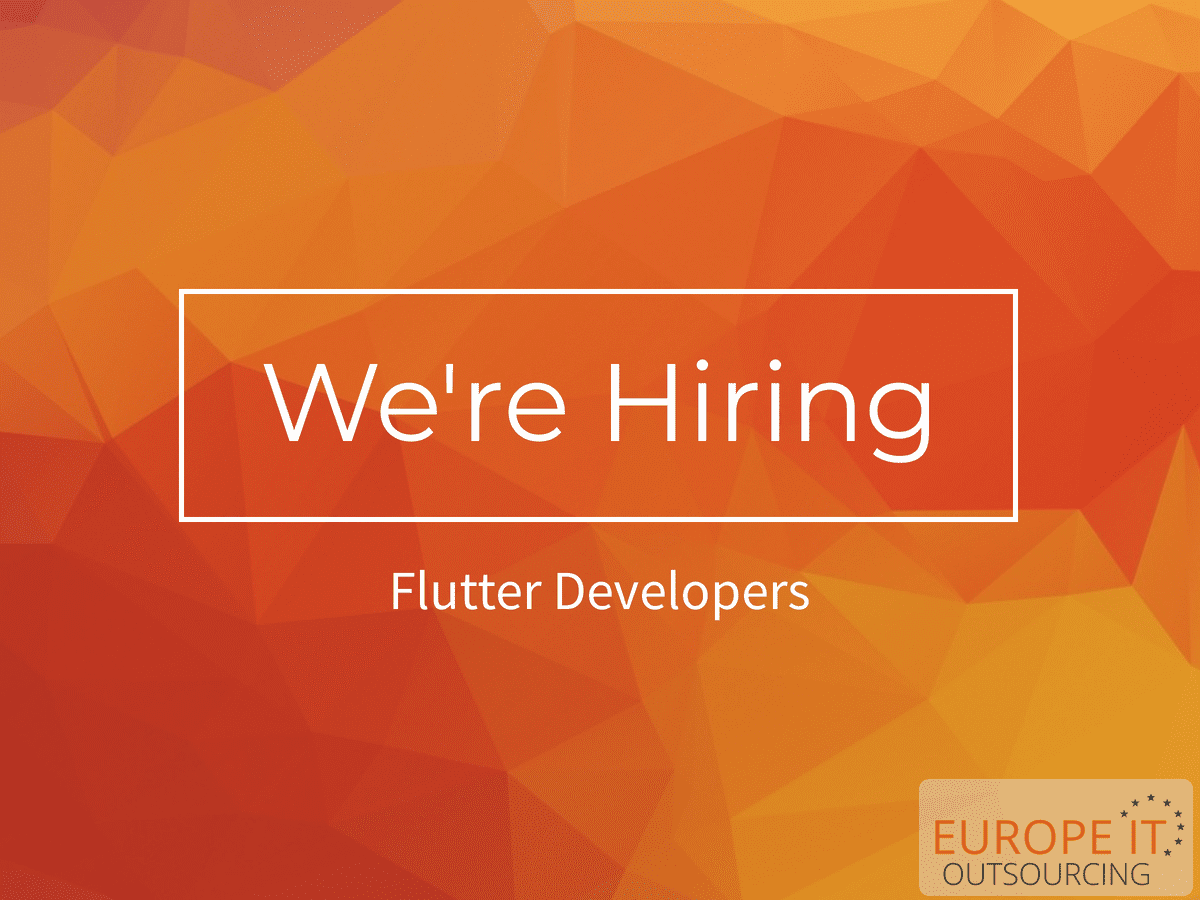 Flutter Developer Job